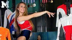 Enlace a Las imágenes más íntimas de Verona van de Leur, la estrella de la gimnasia que se convirtió en estrella del p*rno