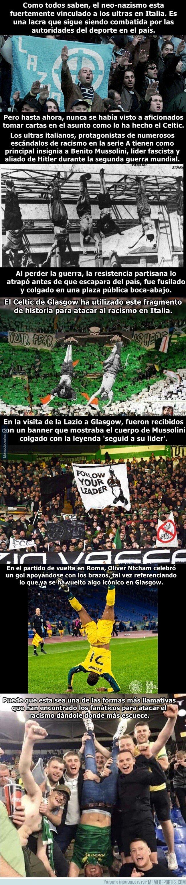1090503 - El Celtic ha encontrado una forma espectacular de mofarse del racismo.