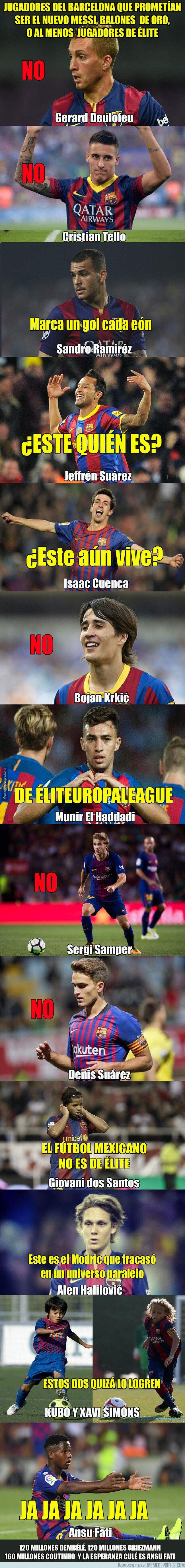 1090553 - Jugadores del Barça que prometían mucho y se quedaron por el camino