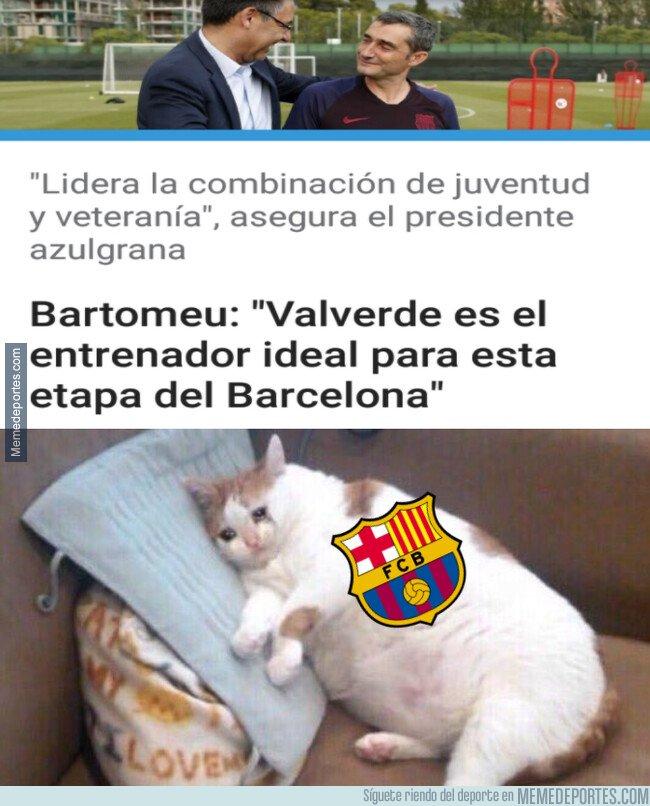 1090555 - Para Bartomeu, Valverde es ideal