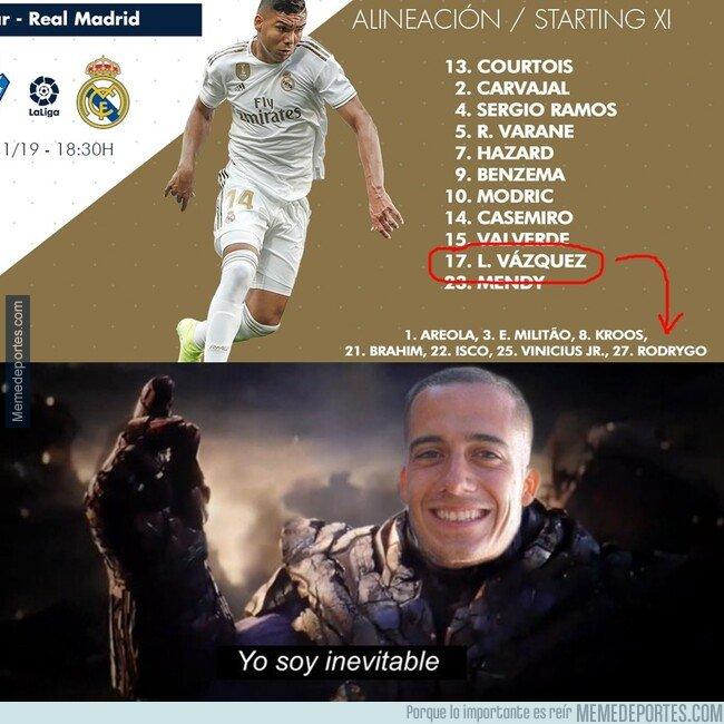 1090572 - ¿Cómo puede sentarse en la mesa de Messi si no puede ni escapar de la sombra de Lucas Vázquez?
