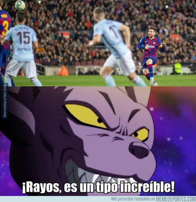 1090622 - Viendo el hattrick de Messi