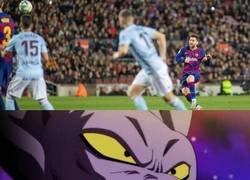 Enlace a Viendo el hattrick de Messi