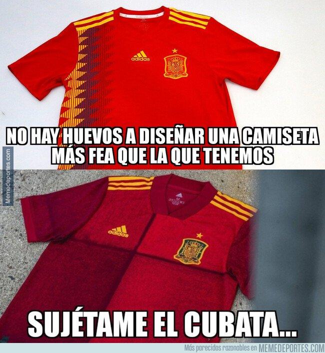 1090770 - Los que diseñan las camisetas de la Selección están borrachos