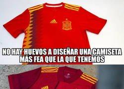 Enlace a Los que diseñan las camisetas de la Selección están borrachos