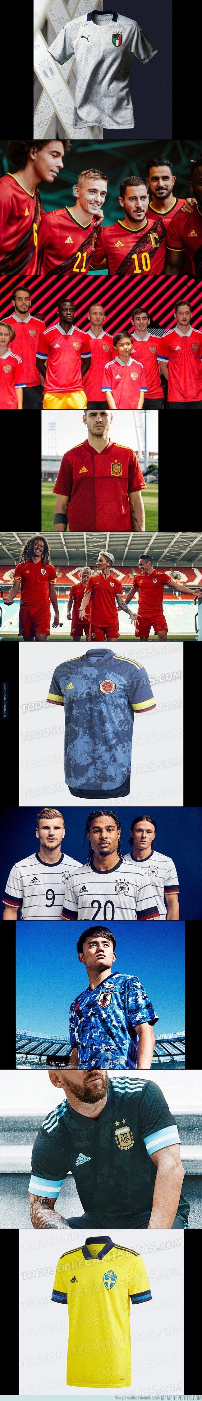 1090784 - Aquí las nuevas camisetas de selecciones para 2020. Haz tu TOP 5.