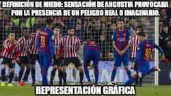 Enlace a Nada más peligroso que ver a Messi lanzar una falta