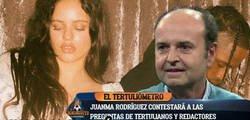 Enlace a Juanma Rodríguez (El Chiringuito) estalla contra la cantante Rosalía tras poner este mensaje sobre VOX y borra los mensajes más tarde