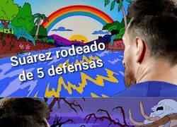 Enlace a La visión de Messi sobre el terreno de juego