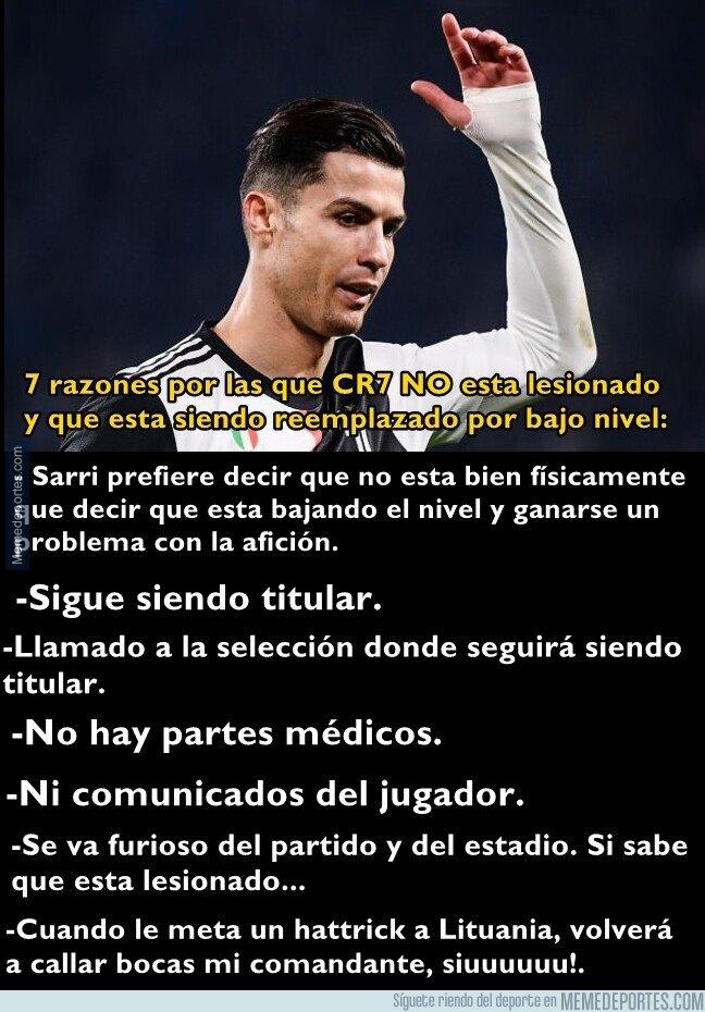 1090898 - 7 razones por las que Cristiano no está lesionado y está siendo protegido