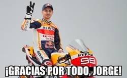 Enlace a Jorge Lorezo anuncia que cuelga el casco