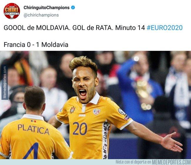 1091155 - ¿En qué momento Neymar se nacionalizó moldavo?