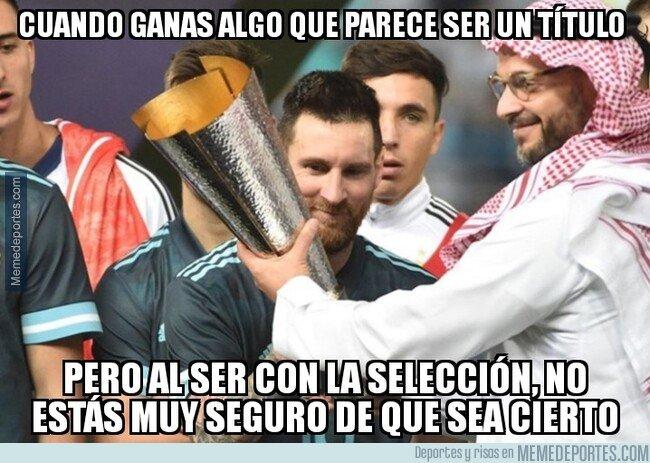 1091206 - ¿Un título con Argentina? No es posible...