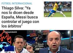 Enlace a A saber los contactos que tendrá Thiago Silva en España