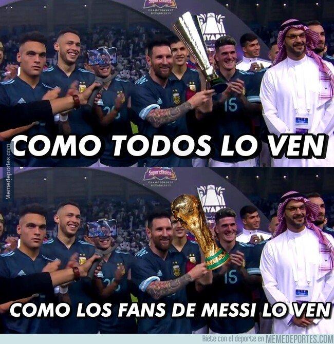 1091236 - ¿¿Messi campeón del mundo...??