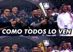 Enlace a ¿¿Messi campeón del mundo...??