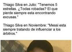 Enlace a Thiago Silva no ha sido el mismo desde aquel 6-1