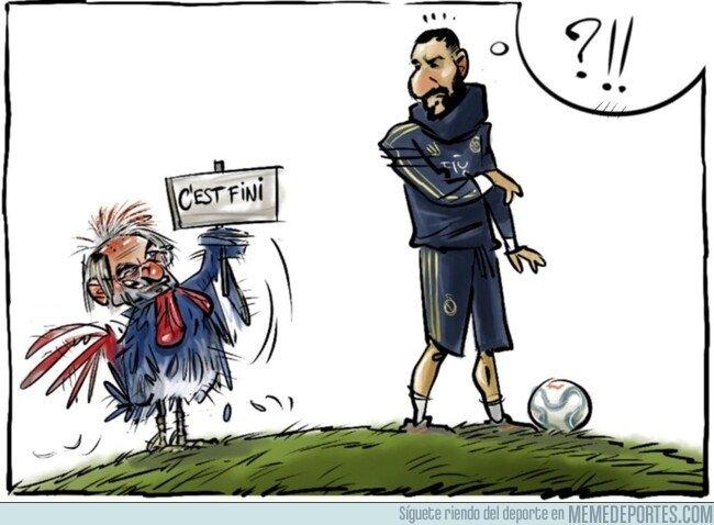 1091253 - A Benzema le cierran la puerta de la selección, por @yesnocse