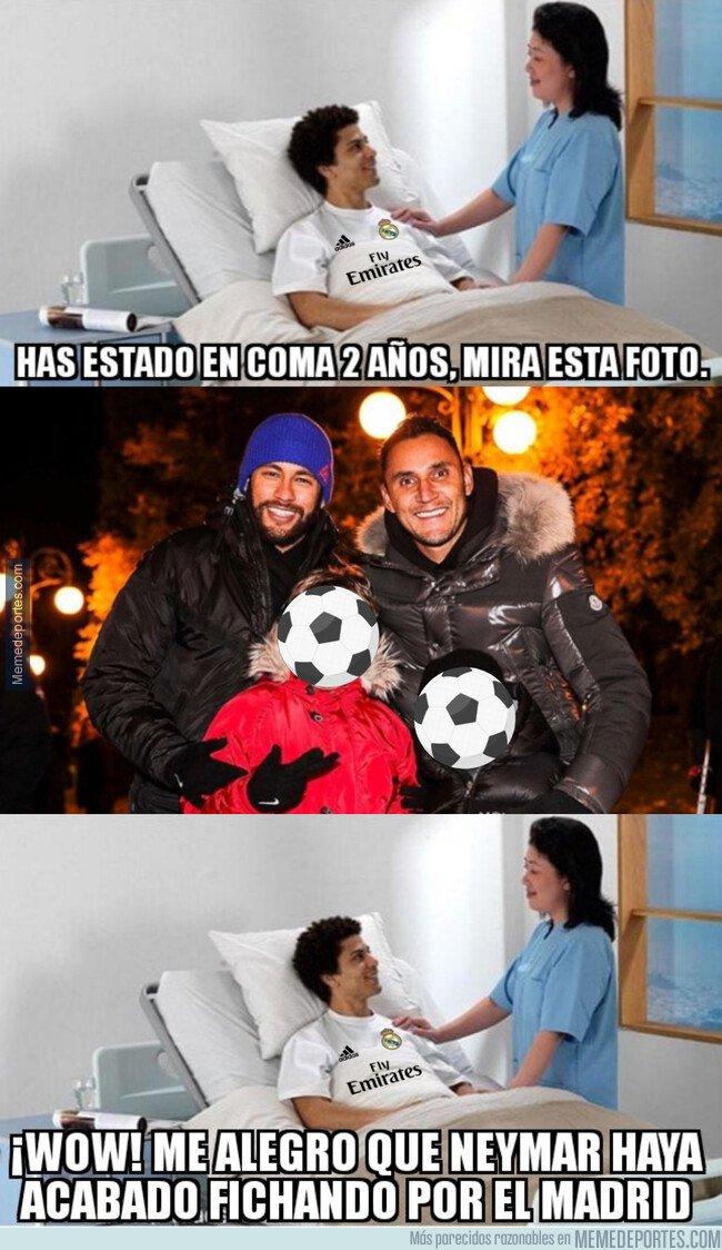 1091320 - Neymar y Keylor hacen buenas migas, ya las podrían haber hecho en Madrid...