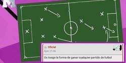 Enlace a BRUTAL: Un usuario de Forocoches descubre la mejor táctica para ganar partidos de fútbol con la que los equipos serían invencibles
