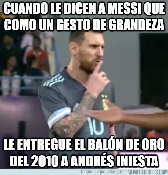 1091389 - Algo que Messi nunca hará