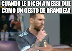 Enlace a Algo que Messi nunca hará
