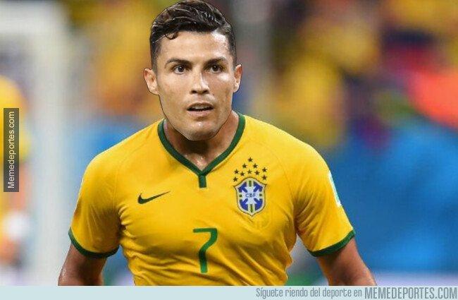 1091442 - Los 10 mundiales que tendría Brasil con Cristiano Ronaldo, según él mismo