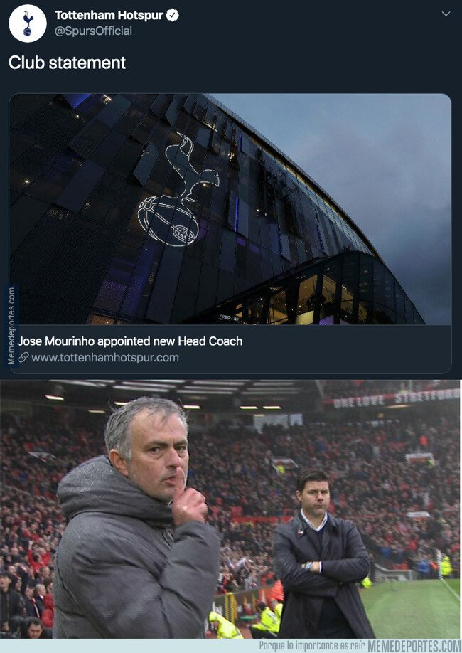 1091565 - José Mourinho nuevo entrenador del Tottenham