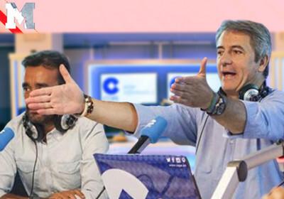 1091596 - La bronca monumental de Juanma Castaño y Manolo Lama en directo por el 'caso Luis Enrique' en la que se recuerdan el polémico pasado en 'Deportes Cuatro'