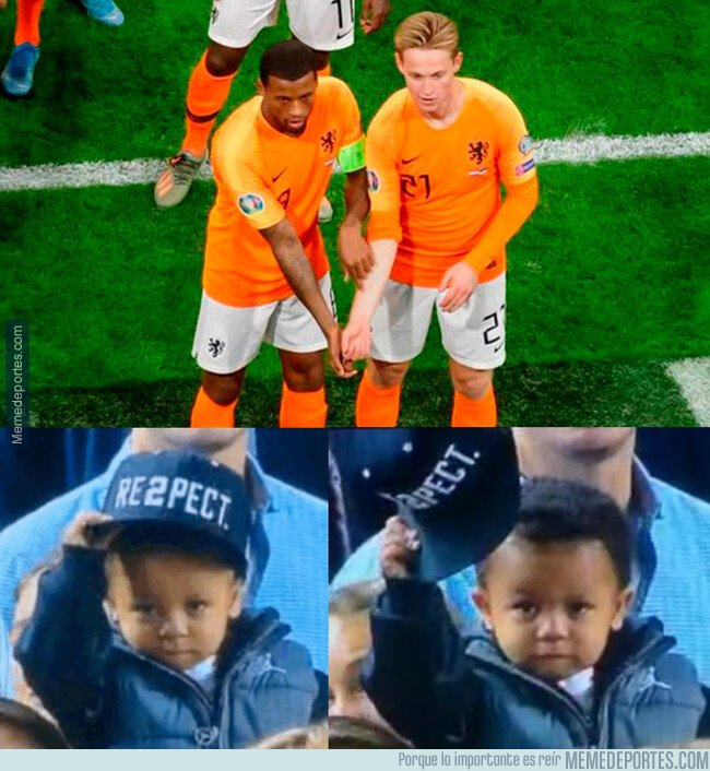 1091600 - Un #respect gigantesco para De Jong y Wijnaldum