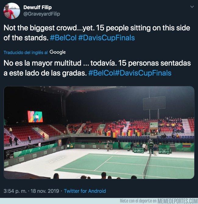 1091627 - Piqué responde de forma tajante a un ex-tenista que critica la falta de público en la Copa Davis