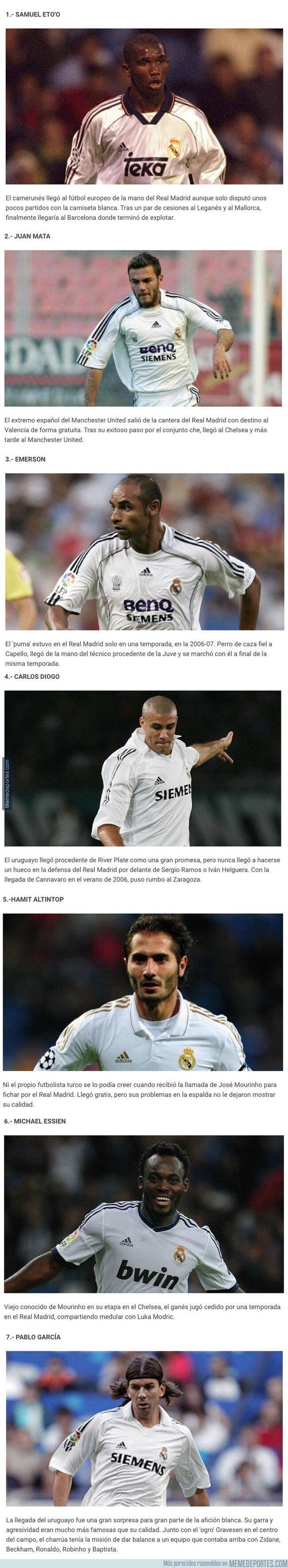 1091643 - 7 jugadores que vistieron la camiseta del Real Madrid y preferirías no haber recordado