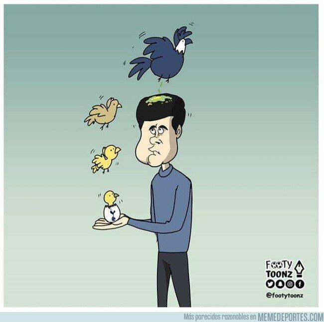 1091659 - El pájaro que crió, acabó cagando sobre él, por @footytoonz