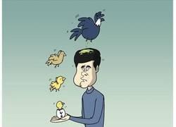 Enlace a El pájaro que crió, acabó cagando sobre él, por @footytoonz