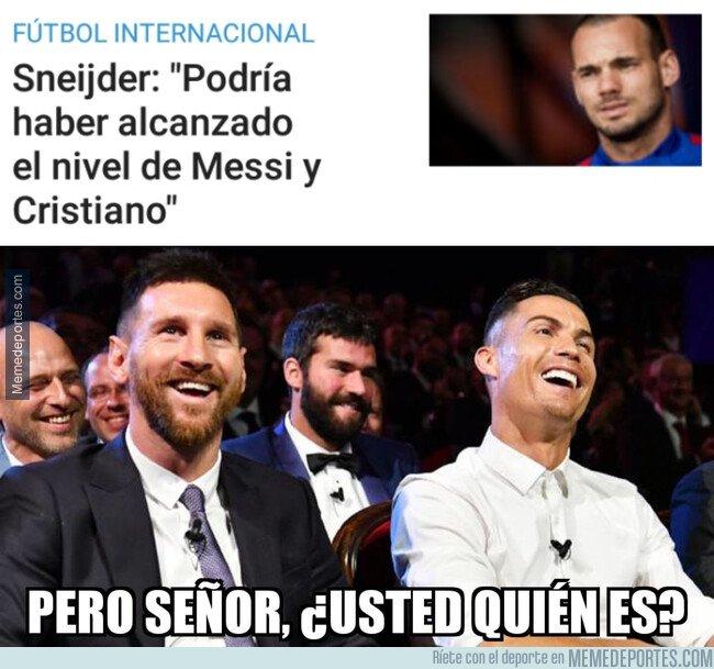 1091699 - Sneijder se nos ha venido un poco arriba