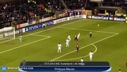 Enlace a Hoy hace 7 años Mexes anotó uno de los mejores goles en la historia de la Champions