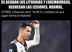 Enlace a ¿Si está lesionado, por qué arriesga contra Lituania y Luxemburgo? Tú sabes el porqué