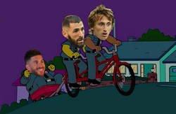 Enlace a Entre Modric y Benzema sacaron adelante el error inicial de Ramos