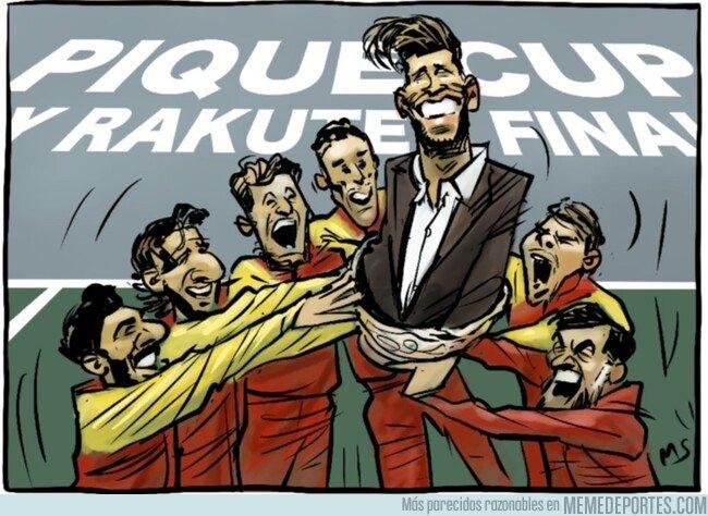1091984 - España, campeona de la Piqué Cup, por @yesnocse