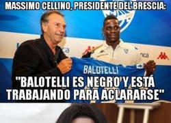 Enlace a Las extrañas declaraciones del presidente del Brescia
