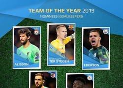 Enlace a Los nominados al equipo del año de la UEFA. ¿Te falta o te sobra alguno?