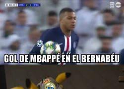 Enlace a El madridismo soñaba con Mbappé marcando goles en el Bernabéu, pero no así