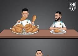 Enlace a Desde que Cristiano no está, Benzema come doble, por @brfootball