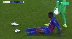 Enlace a Otra lesión de Dembelé