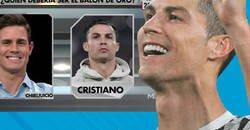 Enlace a Edu Aguirre dice en 'El Chiringuito' que cree que debería ganar Cristiano Ronaldo el Balón de Oro y las respuestas son épicas