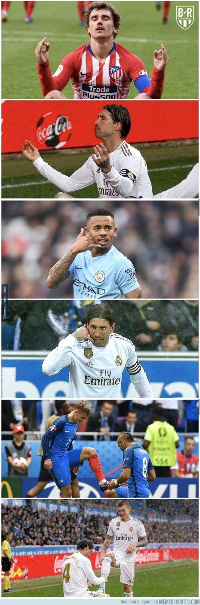 1092375 - A Ramos le gusta imitar celebraciones, por @brfootball
