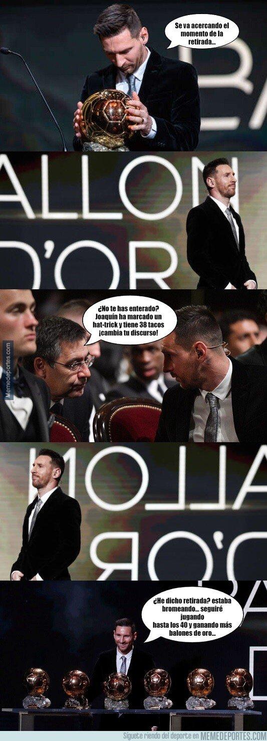 1092993 - Messi se ha pensado mejor lo de su retirada... después del hat-trick de Joaquín