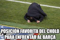 Enlace a El Cholo siempre le asegura 6 puntos fijos al Barça en liga