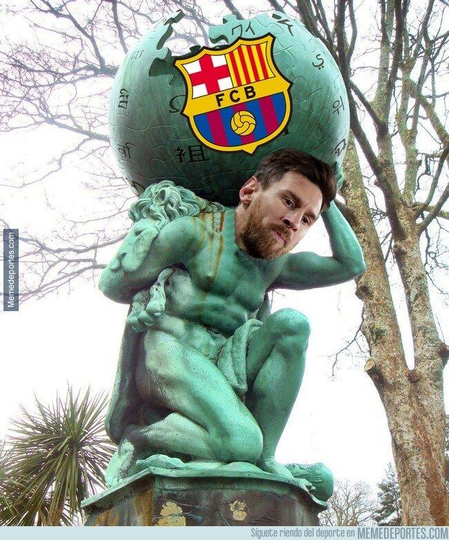 1092450 - El Barça se sostiene sobre el poderío de Messi