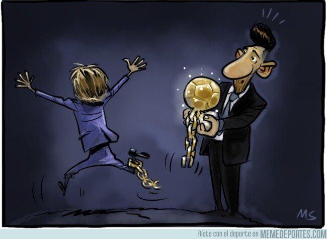1092579 - Modric se deshace de la presión de ser Balón de Oro, por @yesnocse